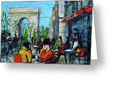 Urban Story - Champs Elysees Greeting Card