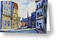 Urban Streets Greeting Card
