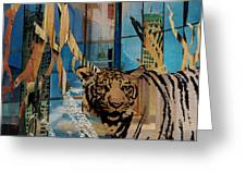 Urban Wildlife Greeting Card