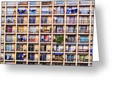 Urbanisation Greeting Card