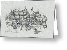 uremberg Sketching Greeting Card