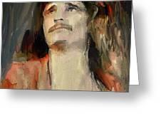 Uriah Heep Portrait Greeting Card