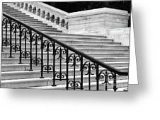 United States Capital Steps Greeting Card