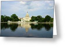 Us Capitol 1 Greeting Card
