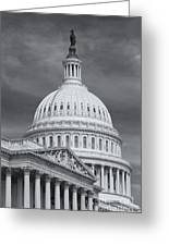 Us Capitol Building Iv Greeting Card