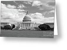 Us Capitol Building Washington Dc Greeting Card