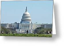 U.s. Capitol Greeting Card