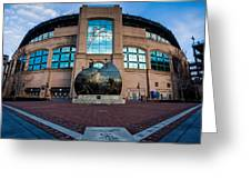 Us Cellular Field Greeting Card