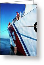Us Coast Guard  Greeting Card