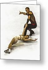 U.s. Figure Skating Championships  Greeting Card