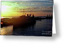 Us Naval Station Mayport Greeting Card