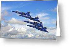 Us Navy - Blue Angels Greeting Card
