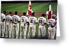 Usa-world Baseball Classic Greeting Card