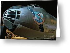 Usaf Museum B-36 Cold War Greeting Card