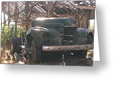 Used Up Truck Greeting Card