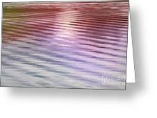 Ushuaia Ar - Ocean Ripples 2 Greeting Card