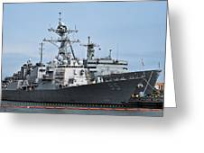 Uss James E. Williams Ddg-95 Greeting Card
