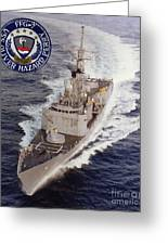 Uss Oliver Hazard Perry Greeting Card