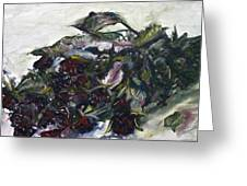 Ususena Ruze - Po Trech Kouscich A - Detail Greeting Card