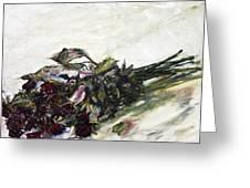 Ususena Ruze - Po Trech Kouscich A Greeting Card