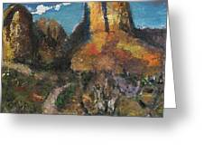Utah Canyon Greeting Card