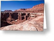 Utah-canyonlands National Park Greeting Card