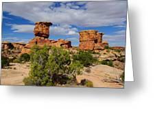 Utah Canyonlands Greeting Card