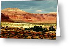 Utah Plateau Mtn M 302 Greeting Card