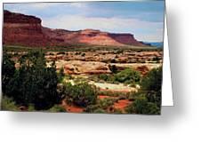 Utah Plateau Mtn M 303 Greeting Card