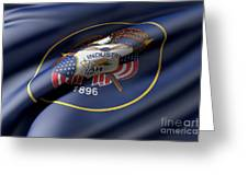 Utah State Flag Greeting Card