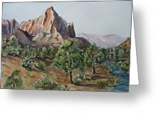 Utah Valley Greeting Card