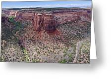 Ute Canyon Greeting Card