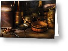 Utensils - Colonial Utensils Greeting Card