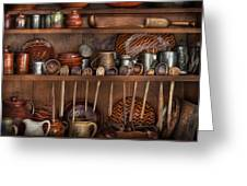 Utensils - What I Found In A Cabinet Greeting Card