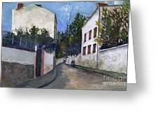 Utrillo: Sannois, 1912 Greeting Card