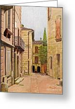 Uzes, South Of France Greeting Card
