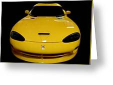 V Is For Viper Greeting Card