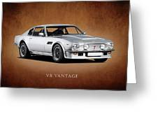 V8 Vantage Greeting Card