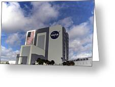 Vab At Kennedy Space Center Greeting Card