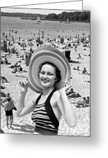 Vacation Montage, C.1930s Greeting Card