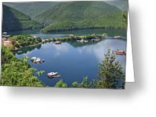 Vacha Dam Greeting Card