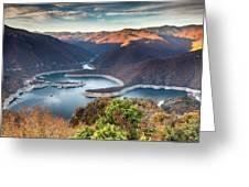 Vacha Lake Greeting Card