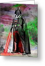 Vader Abstract Greeting Card