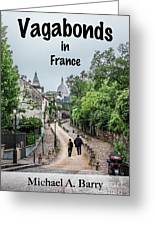 Vagabonds In France Book Cover Greeting Card