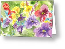 Vail Flowers Greeting Card