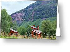 Vail Landscape Greeting Card