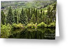 Vail Reflections In The Summer Greeting Card