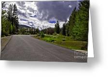 Vail Road Greeting Card