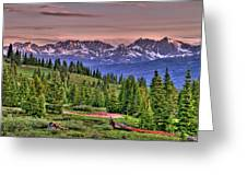 Vail View Greeting Card