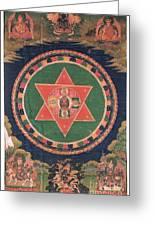 Vajravarahi Mandala Greeting Card